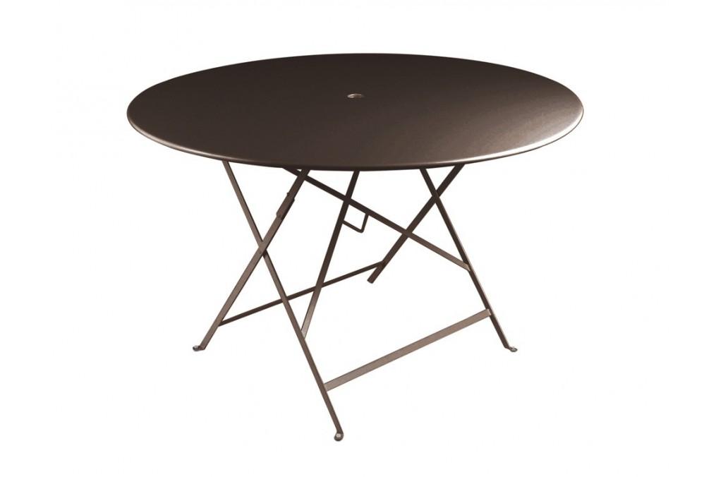 Table bistro fermob m tal diam 117 cm latour mobilier de - Table bistro fermob ...
