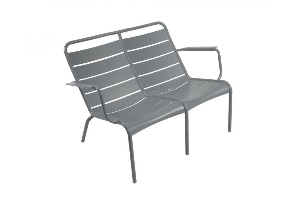 fauteuil bas duo luxembourg fermob latour mobilier de jardin. Black Bedroom Furniture Sets. Home Design Ideas