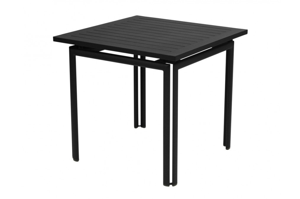 Table carr e costa fermob for Table 80 x 80