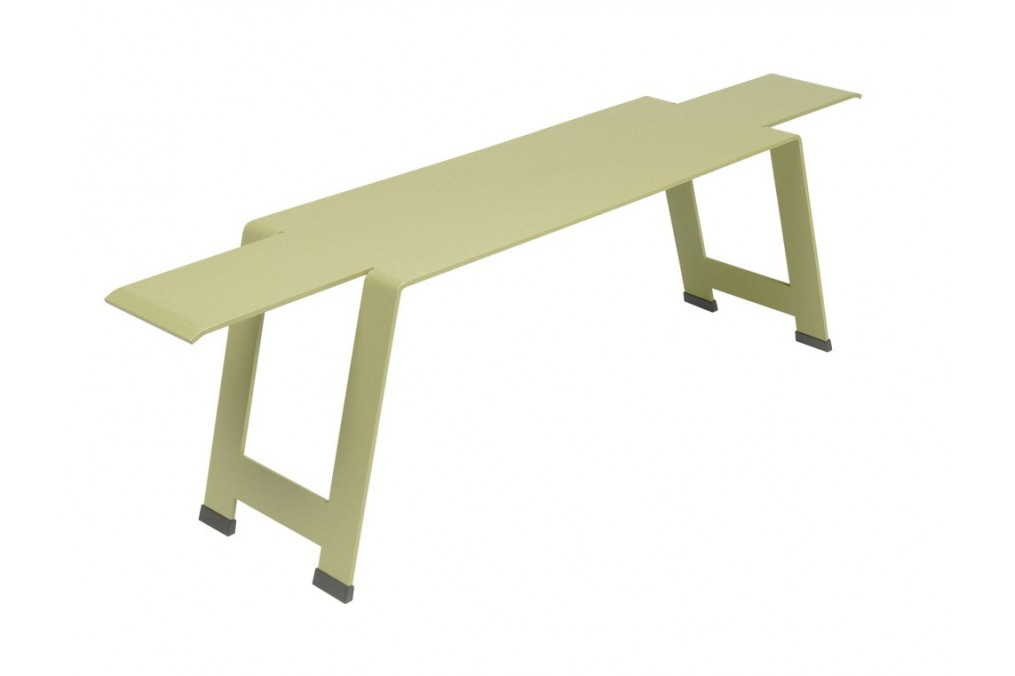 banc origami 154 cm fermob latour mobilier de jardin. Black Bedroom Furniture Sets. Home Design Ideas