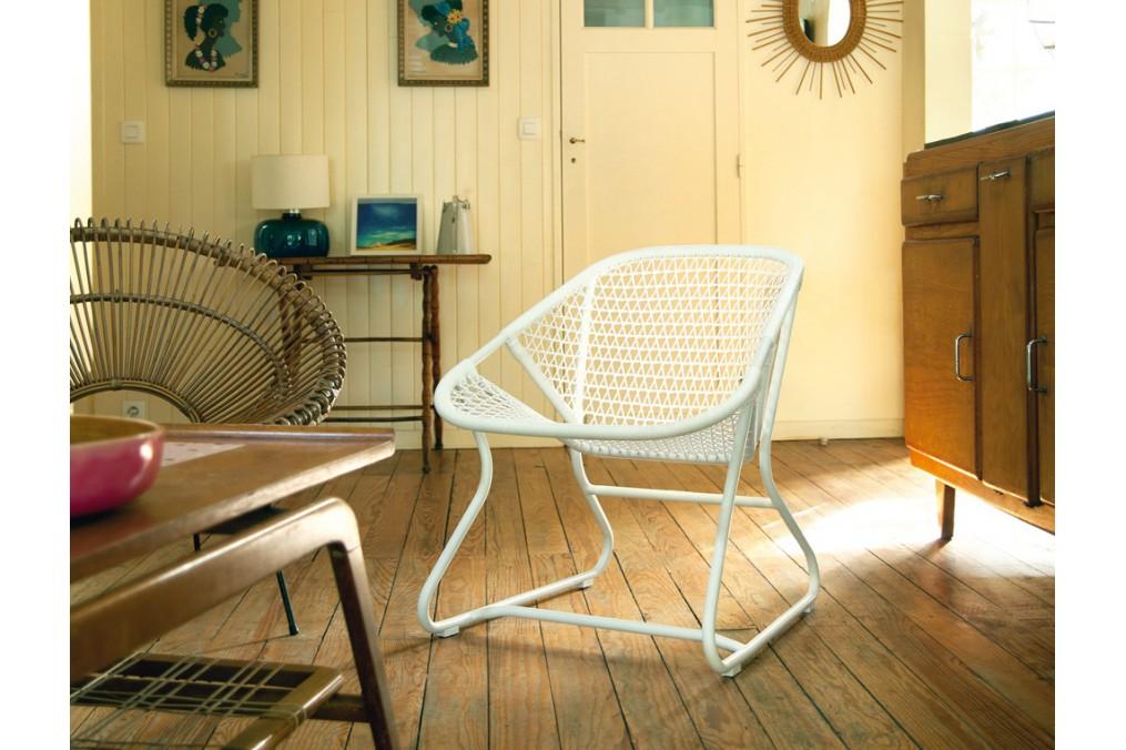 Fauteuil sixties fermob latour mobilier de jardin - Mobilier de jardin fermob ...