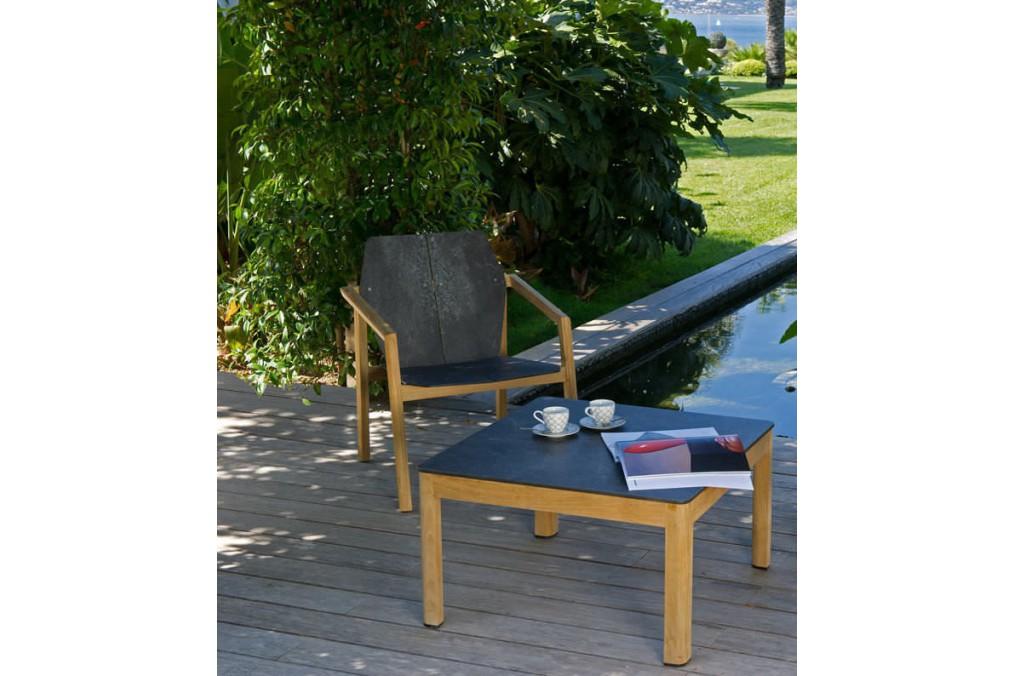 fauteuil bas tekura les jardins latour mobilier de jardin. Black Bedroom Furniture Sets. Home Design Ideas