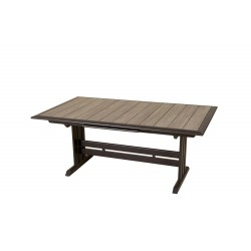 Table Hegoa Les Jardins 150/200 x 90 cm
