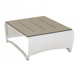Table Basse Jet Stream 100X100 LES JARDINS