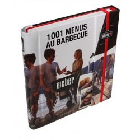 """Livre de recettes """"1001 menus au barbecue"""" WEBER"""