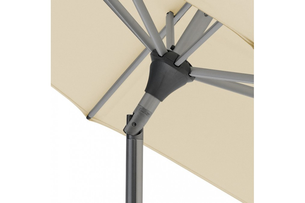 parasol alu twist easy 250x200 glatz. Black Bedroom Furniture Sets. Home Design Ideas