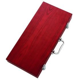 Coffret bois luxe 5 ustensiles INVICTA