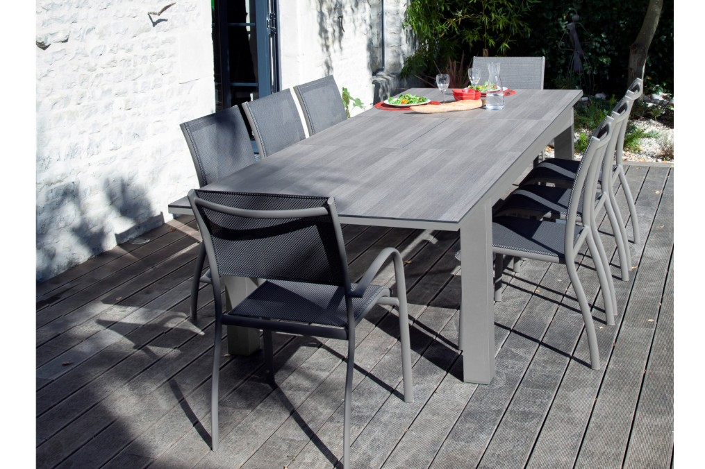 Table FLO 220/300 OCEO - Latour Mobilier de jardin