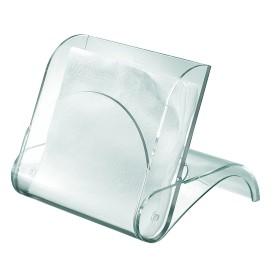 porte serviette acrylique transparent guzzini