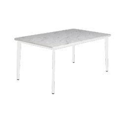 Table Riba Blanc/MarbreTriconfort