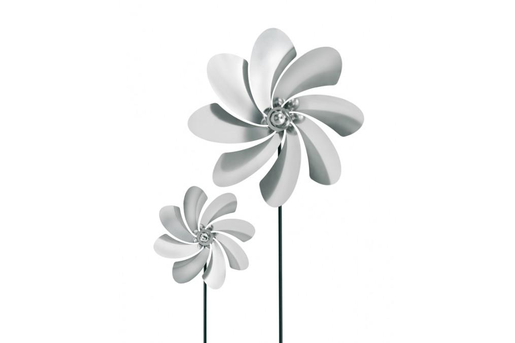 eolienne inox 133 cm blomus latour mobilier de jardin. Black Bedroom Furniture Sets. Home Design Ideas