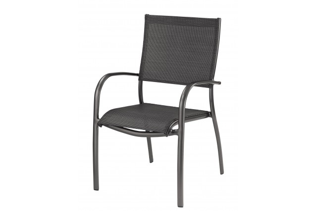 Fauteuil Elégance empilable OCEO Royal Grey