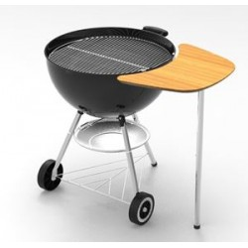 plan de travail pour barbecue charbon 47 57 cm weber. Black Bedroom Furniture Sets. Home Design Ideas