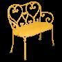 Banquette 1900 fermob
