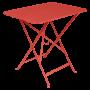 Table Bistro FERMOB Métal 77 x 57 cm Capucine