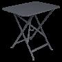 Table Bistro FERMOB Métal 77 x 57 cm Carbone