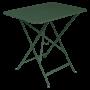 Table Bistro FERMOB Métal 77 x 57 cm Cèdre