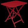 Table Bistro FERMOB Métal 77 x 57 cm Coquelicot