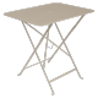 Table Bistro FERMOB Métal 77 x 57 cm Muscade