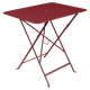 Table Bistro FERMOB Métal 77 x 57 cm Piment