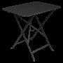 Table Bistro FERMOB Métal 77 x 57 cm Reglisse