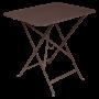 Table Bistro FERMOB Métal 77 x 57 cm Rouille
