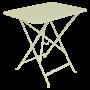 Table Bistro FERMOB Métal 77 x 57 cm Tilleul