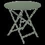 Table Bistro FERMOB Métal diam 77 cm Cactus
