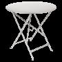 Table Bistro FERMOB Métal diam 77 cm Gris Metal