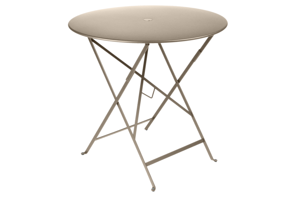 Table bistro m tal diam 77 cm fermob - Table bistro jardin ...