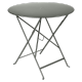 Table Bistro FERMOB Métal diam 77 cm Romarin