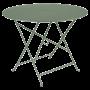 Table Bistro FERMOB Métal diam 96 cm Cactus
