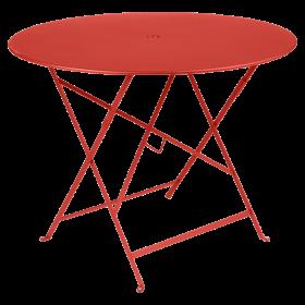 Table Bistro FERMOB Métal diam 96 cm Capucine