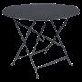 Table Bistro FERMOB Métal diam 96 cm Carbone