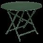 Table Bistro FERMOB Métal diam 96 cm Cèdre