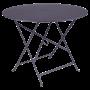 Table Bistro FERMOB Métal diam 96 cm Prune