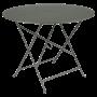 Table Bistro FERMOB Métal diam 96 cm Romarin