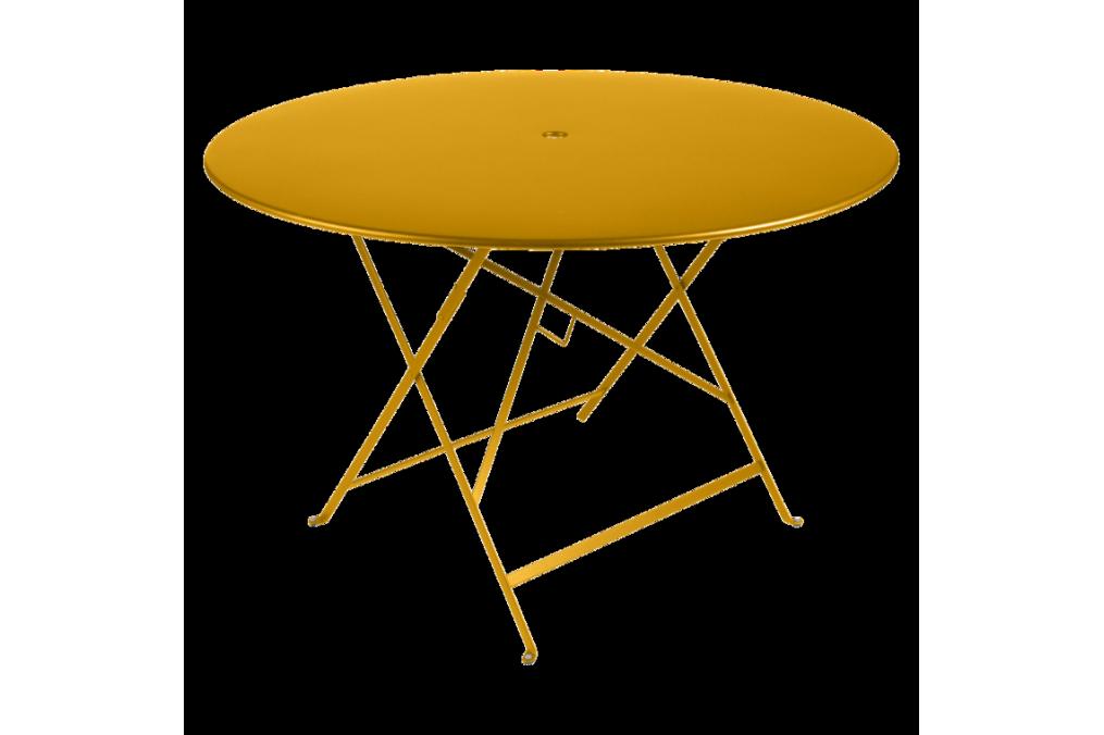 Table bistro m tal diam 117 cm fermob - Table bistro fermob ...