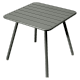 Table Luxembourg 80 x 80 cm FERMOB romarin