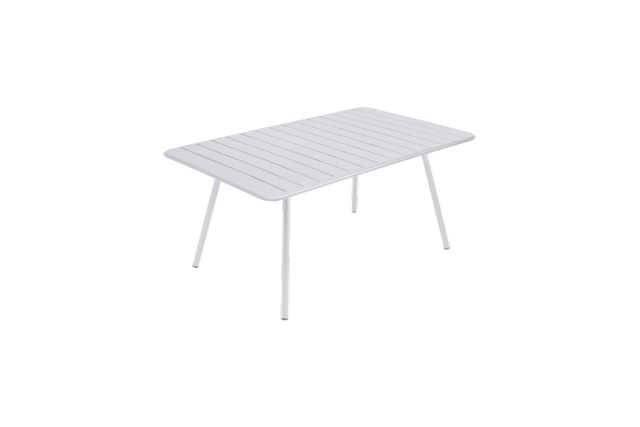 Table Luxembourg 165 x 100 cm FERMOB blanc coton