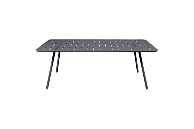 Table Luxembourg 207 x 100 cm FERMOB carbone