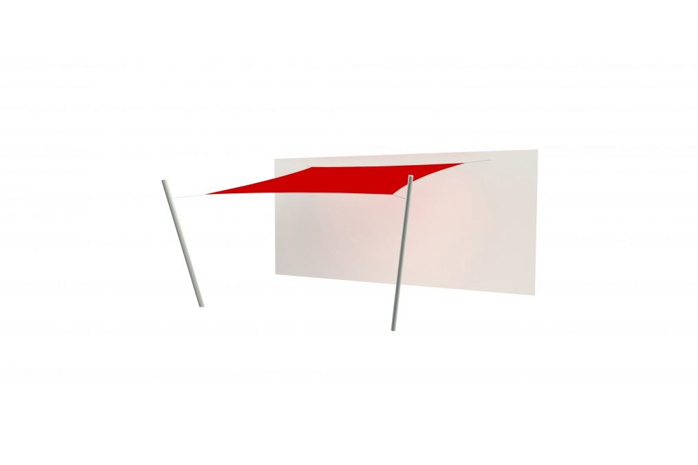 voile d ombrage 4x4 excellent fabulous voile duombrage with voile d ombrage x with voile d. Black Bedroom Furniture Sets. Home Design Ideas