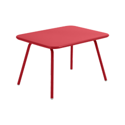 Table Luxembourg Kid FERMOB coquelicot