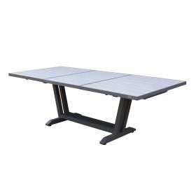 Table AMAKA 170/230x90 cm / 8-10 places - LES JARDINS