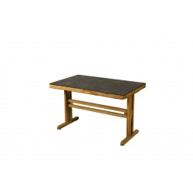 Table balcon TEKURA 120-160x75 cm / 4-6 places - LES JARDINS