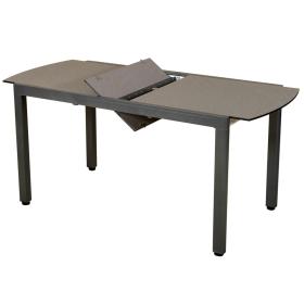 Table Ticao extensible 145/185x75cm / 4 à 6 places - LES JARDINS