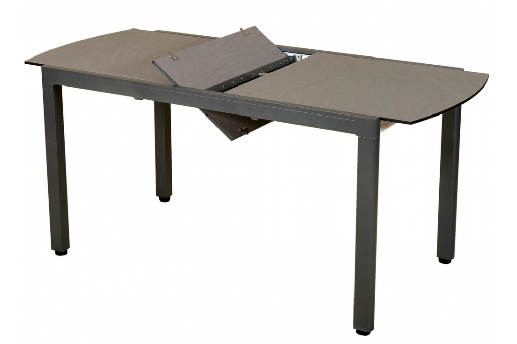 Table extensible ticao 145 185x75cm les jardins for Table extensible 75 x 75
