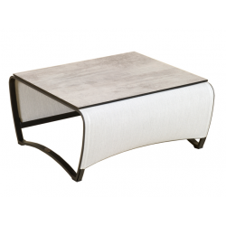 Table Basse 70x70cm Jet Stream Les Jardins