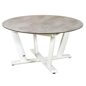 Table Ronde Hegoa extensible 146/206x146cm LES JARDINS