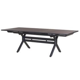 Table Xenah extensible 180/240x105cm plateau latté LES JARDINS
